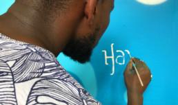 art, calligraphy, handlettering, street art, dubai, UAE, About dabs