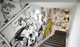 Dubai, UAE, Abu Dabhi, art, graffiti, street art, Emirates, characters, black