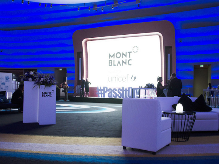dubai, unicef, Montblanc, pass it on, operation, launch, collection, marketing