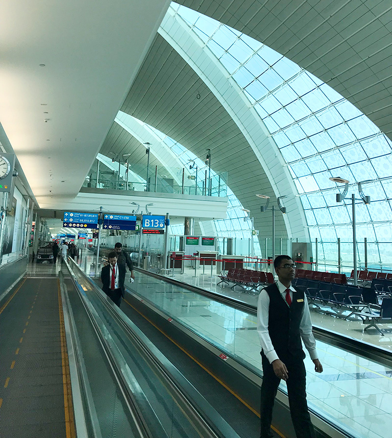 Dubai, Airport, United Arab Emirates