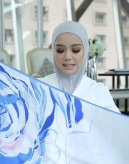 graffiti, street art, hijab, fashion, muslin, woman