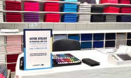 Lacoste, shop, personalization, corner, Dubai