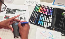 Live personalization, art, graffiti , street art
