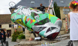graffiti, car, street art, original, live show