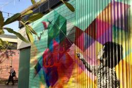 La Mer, Jumeirah, Dubai, Sea, Street Art, Enjoyment, graffiti, Kid, Playing, Art