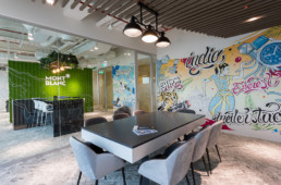 Montblanc, working space, lettering, hand lettering, calligraphy, graffiti