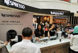 Nespresso, New Vertuo, Pop Up, Store, Shop, Mall, Street art, Dubai, Abu Dhabi, Al Aïn