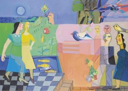 Amine El Bach, Artist, Middle East, Dubai, Canvas, exhibition