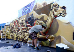 Street art, graffiti, graffiti artist, painter, outdoor, decoration