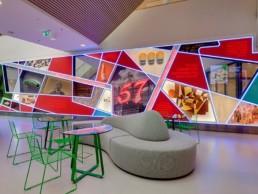 interior design , mix, light, installation, art, modern, colors