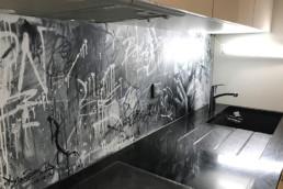 trash, touch, graffiti, street art, contemporary, modern, decoration