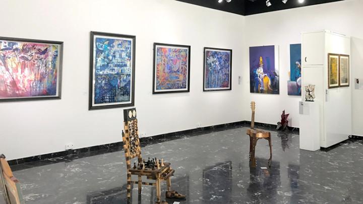 Dubai, Abu Dhabi, Art, Contemporary, canvases