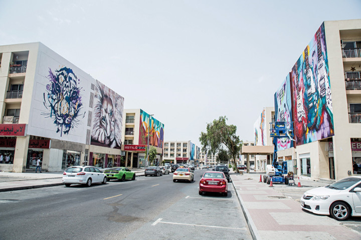 Dubai Design District loves Street Art
