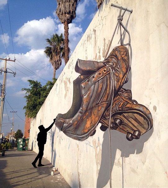 Juandrès Vera, graffiti, street art, illusion, graffiti, arts, dubai, UAE